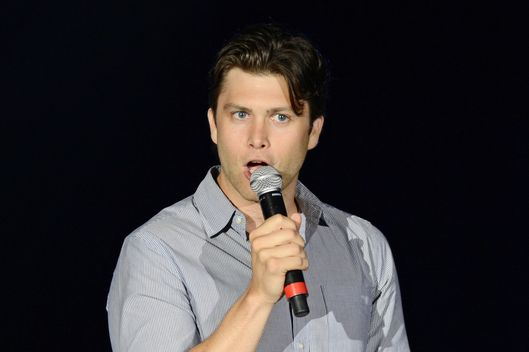 COCONUT CREEK, FL - JULY 19: Colin Jost performs at Seminole Casino Coconut Creek on July 19, 2012 in Coconut Creek, Florida. (Photo by Larry Marano/WireImage)