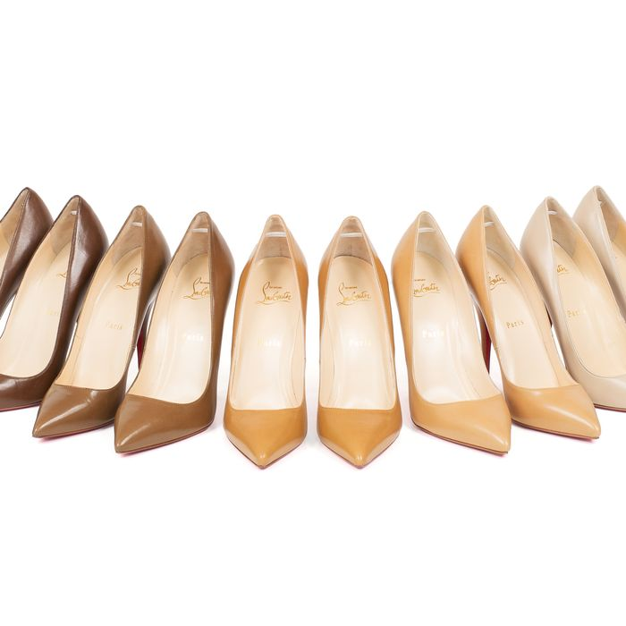 8a5f3609b73 Louboutin Expands the Colors of the  Nude  Shoe