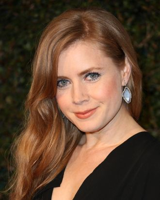 HOLLYWOOD, CA - FEBRUARY 20: Actress Amy Adams attends the Vanity Fair and Juicy Couture