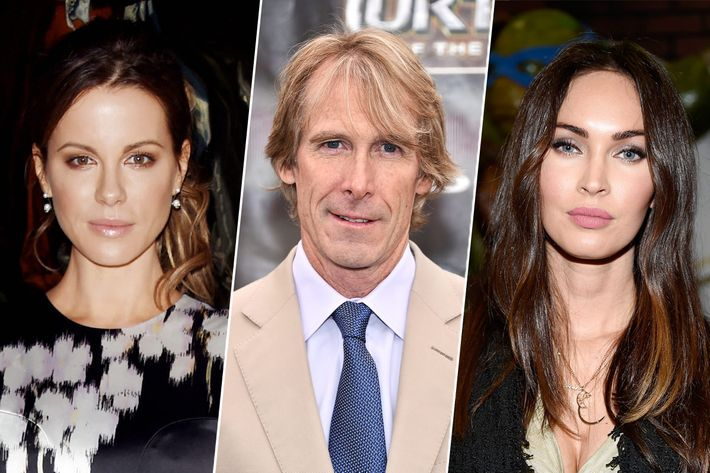 Kate Beckinsale, Michael Bay, Megan Fox