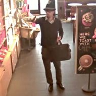 World's Most Dapper Starbucks Robber Is Still at Large
