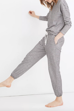 Madewell Striped Saunter Lounge Pants