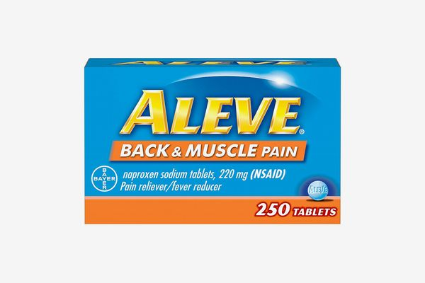 Aleve Back & Muscle Pain Reliever/Fever Reducer Tablets
