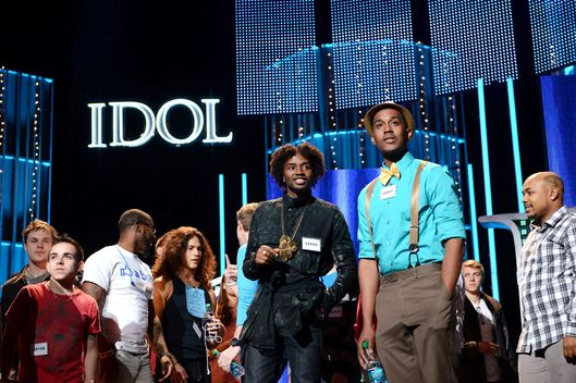 "AMERICAN IDOL: Drama and desperation escalate behind the scenes as the pressure mounts during the intense ""Hollywood Rounds"" which kick off with the guys, competing on Wednesday, Feb. 6 (8:00-10:00 PM ET/PT) and Thursday, Feb. 7 (8:00-9:00 PM ET/PT). The girls get their chance to win over the judges beginning Wednesday, Feb. 13 (8:00-10:00 PM ET/PT)"