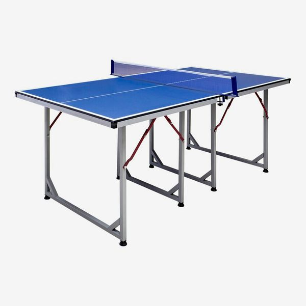 Hathaway Games Reflex Foldable Indoor Table Tennis Table with Paddles and Balls