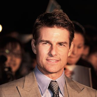 TOKYO, JAPAN - MAY 08: Tom Cruise attends the 'Oblivion' Japan Premiere at Roppongi Hills on May 8, 2013 in Tokyo, Japan. The film will open on May 31 in Japan. (Photo by Adam Pretty/Getty Images)