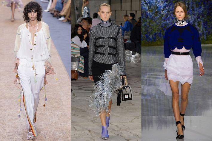Chloe, Loewe, and Dior.