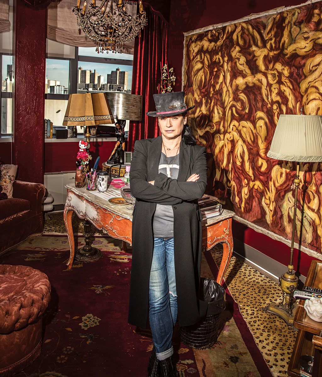 Amy Sherman-Palladino in her New York office.