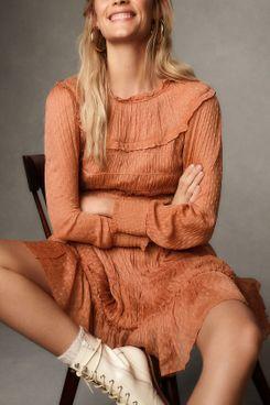 Dalia Smocked Mini Dress