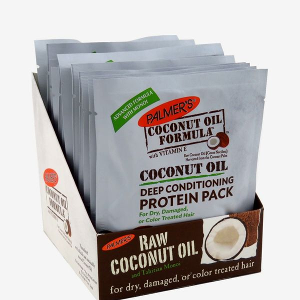 Palmer's Coconut Oil Deep Conditioning Protein Pack, 12-Count
