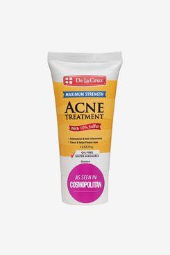 De La Cruz 10% Sulfur Ointment Acne Medication
