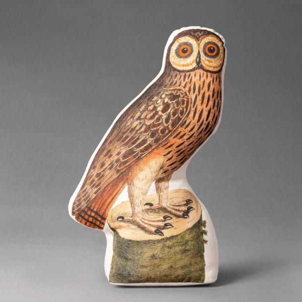 John Derian for Threshold Pocus Horn Owl Shaped Throw Pillow