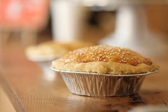 Petee's also serves savory pies, including one filled with empanda-style beef.