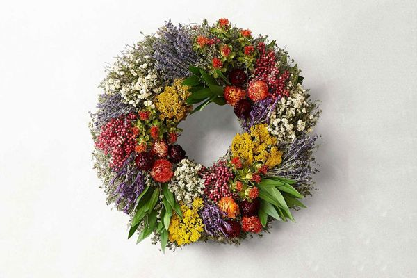 Farmers' Market Herb Wreath