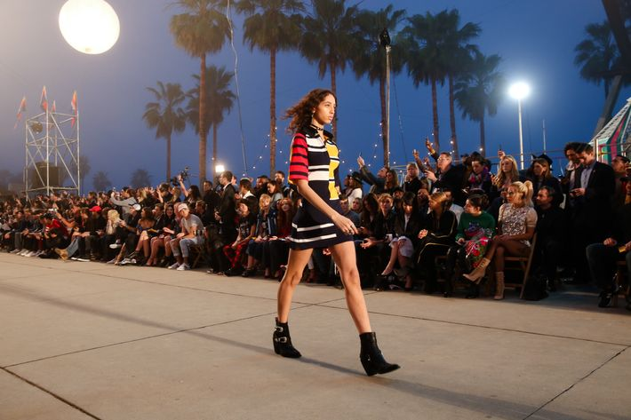 Tommy Hilfiger Showed Spring 2017 In Los Angeles