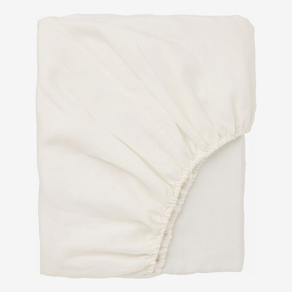 Puderviva Fitted White Sheet