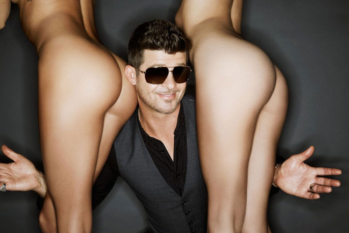 robin thicke big dick