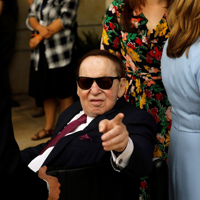 Adelson's Fantasizing About Building Casinos in North Korea
