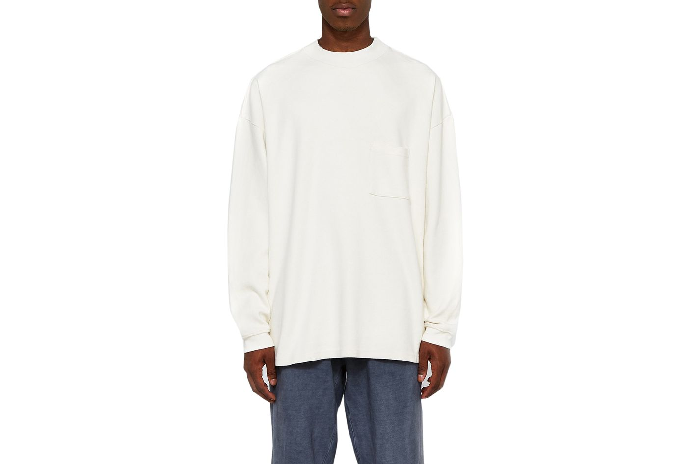 Yeezy Long Sleeve Tee With Pocket