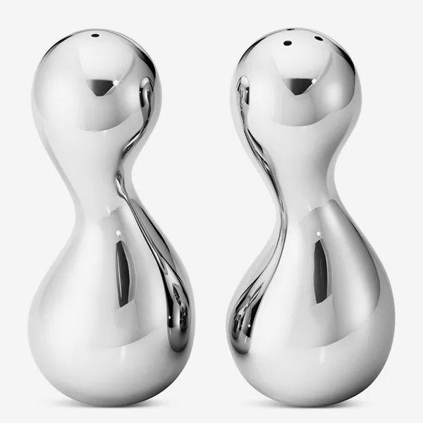 Georg Jensen Cobra Salt & Pepper Shaker Set