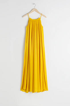 & Other Stories Rope Strap A-Line Maxi Dress