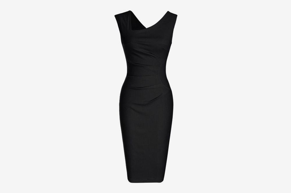 MUXXN Sleeveless Business Dress