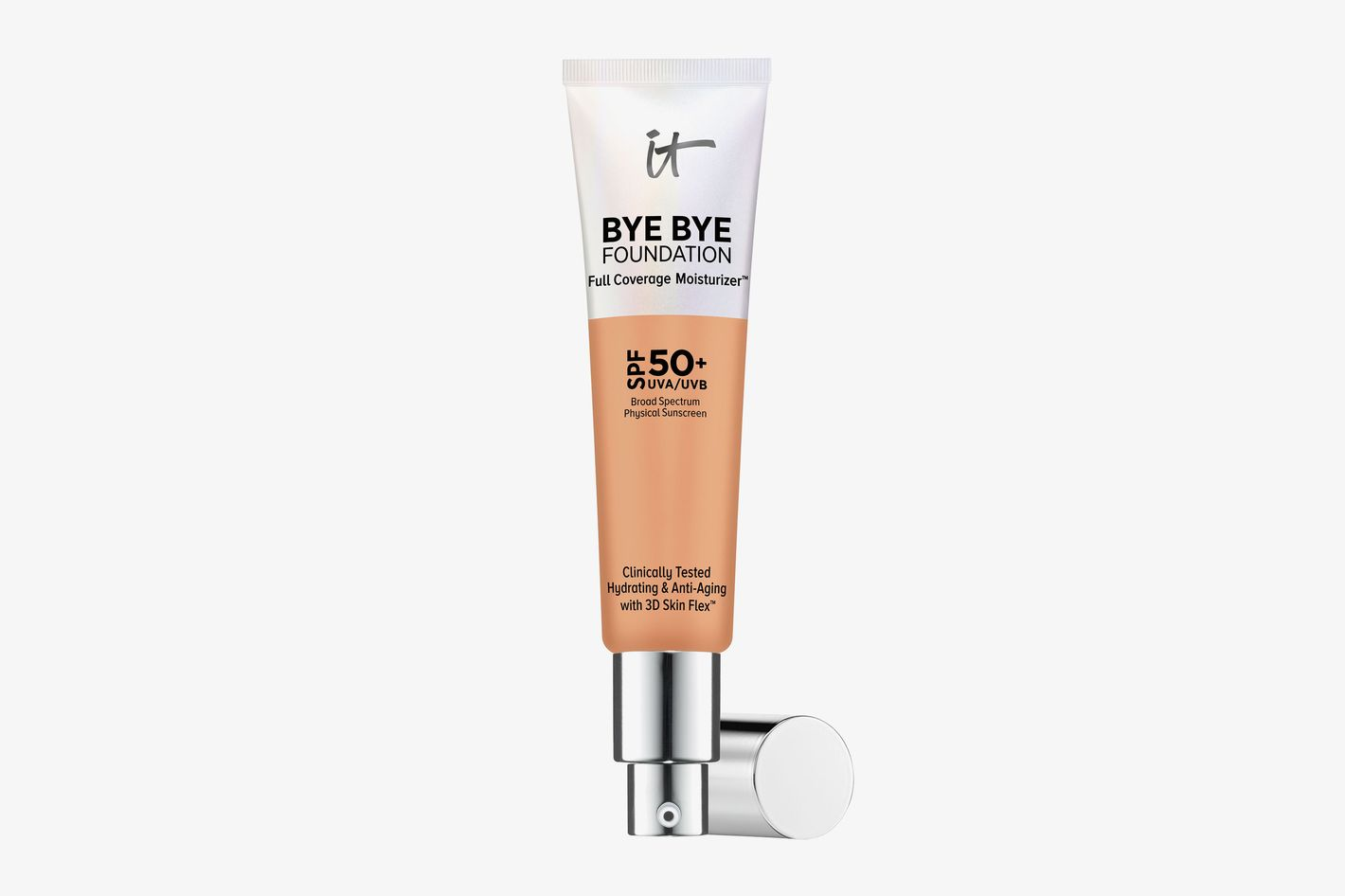 Bye Bye Foundation Full Coverage Moisturizer with SPF 50+ Neutral Tan