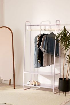 Cameron Lavender Clothing Rack