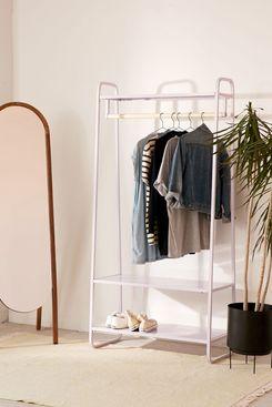 Cameron Lavender Clothing Rack