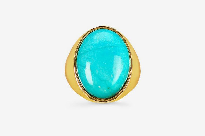 Johnny Was Turquoise Oval Ring