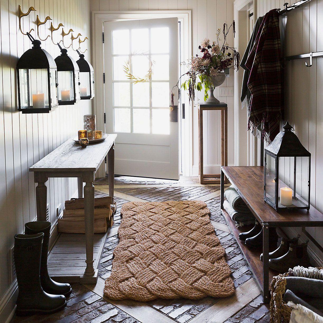 Terrain Knot Weave Doormat
