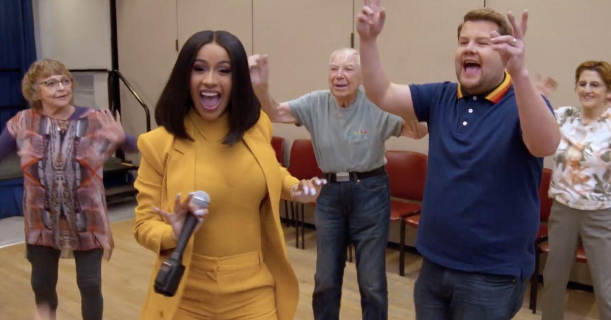 Cardi Bs Carpool Karaoke branded the best yet as she