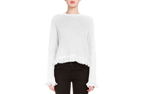 Proenza Schouler Crocheted Fringe Sweater