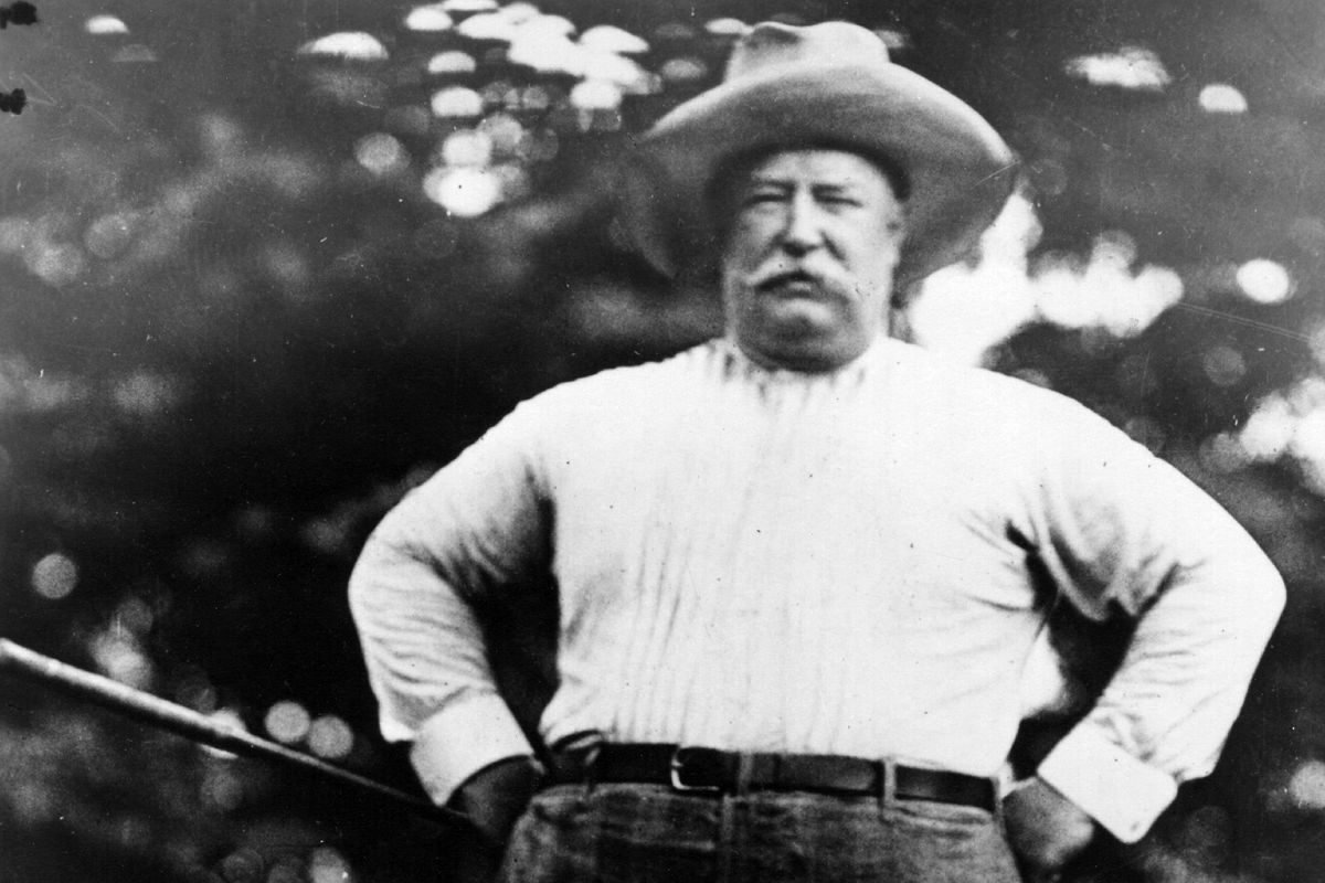 "Big Bill"" Taft - more to him than a big belly!"