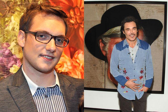 James Parmenter (left) and David Lachapelle.