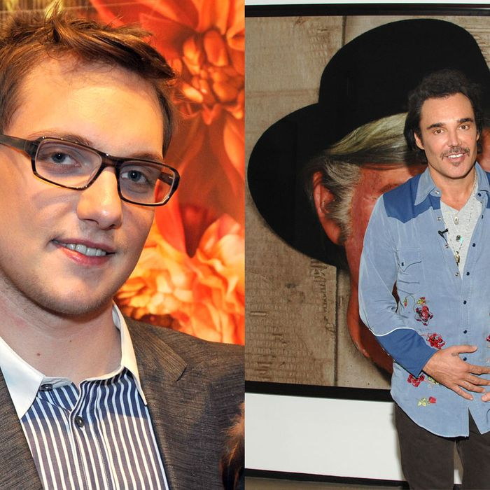 James Parmenter (left) and David Lachapelle.