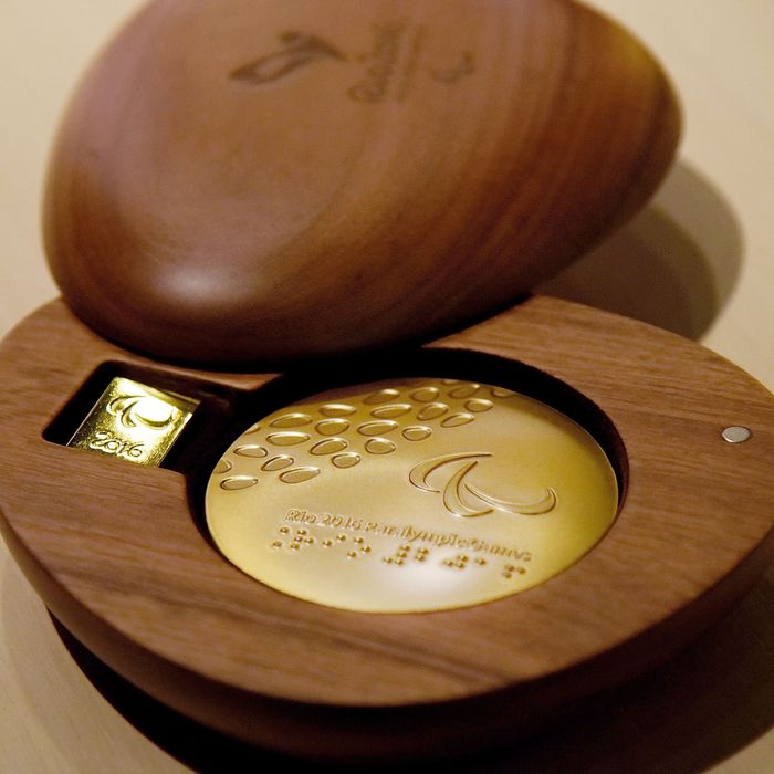 Medals for the 2016 Olympics