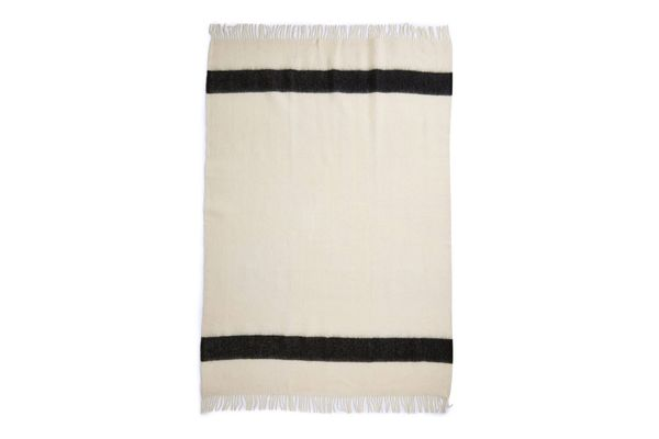 Hudson's Bay Company Oxford White Caribou Throw