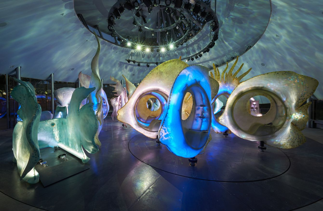 Inside Battery Park S Trippy New Carousel Nymag