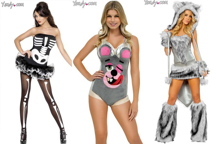 Most Revealing Halloween Costumes For Women