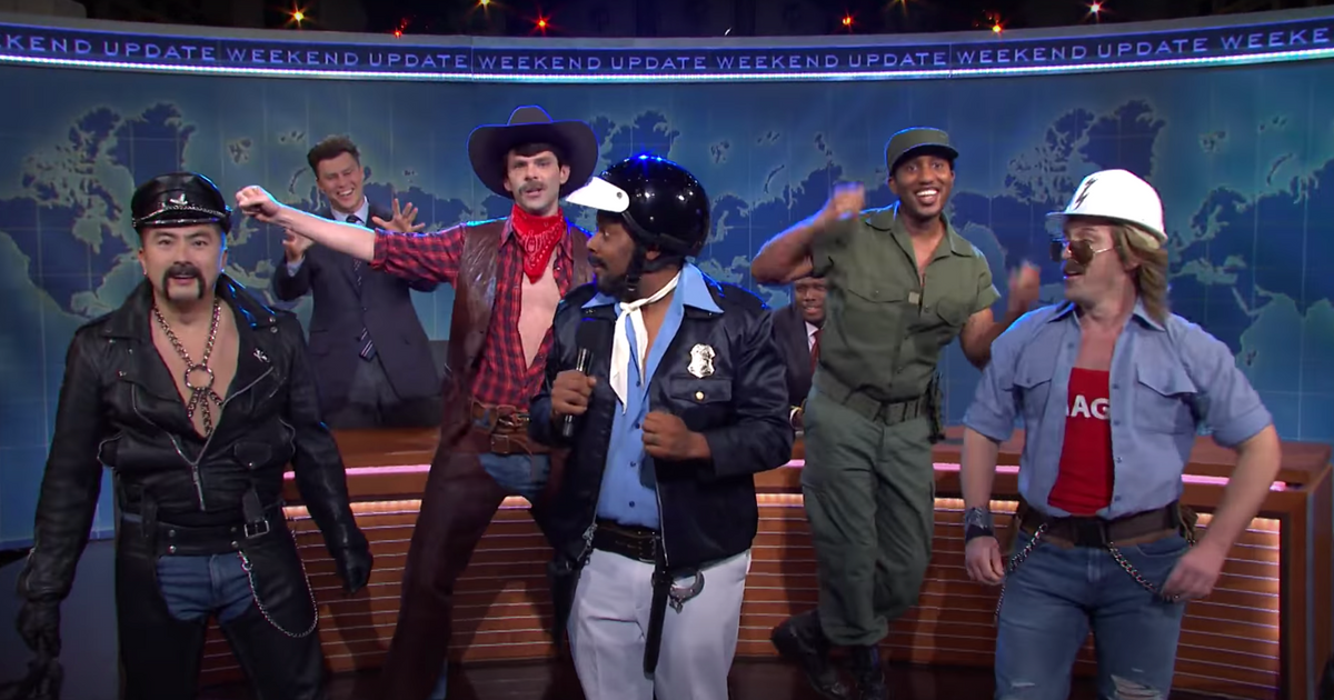 SNL's Village People Give Trump a Musical Cease and Desist on Weekend Update