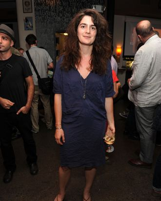 Actress Gaby Hoffmann attends the