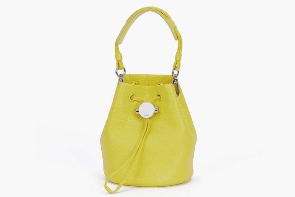 KARA Yellow Drawcord Bucket