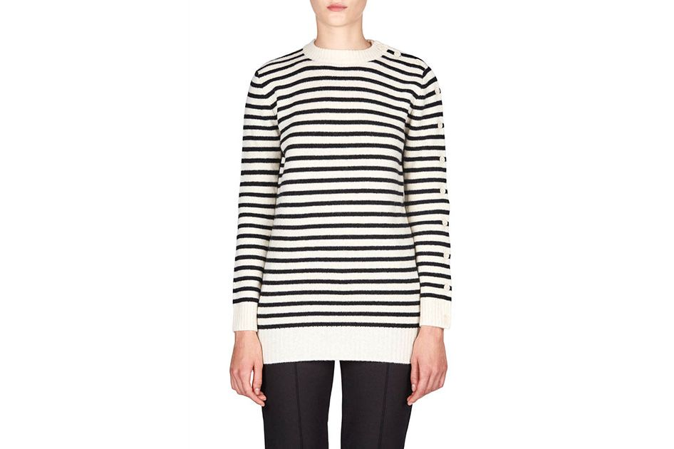 MM6 Maison Margiela Striped Sailor Sweater