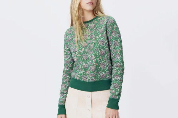 Rebecca Minkoff Lotus Paisley Sweatshirt