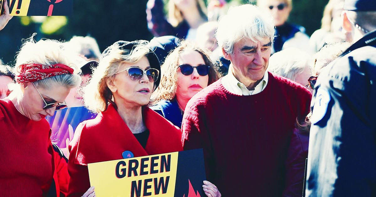 A Quarter of the Grace and Frankie Cast Has Been Arrested at a Climate Change Protest