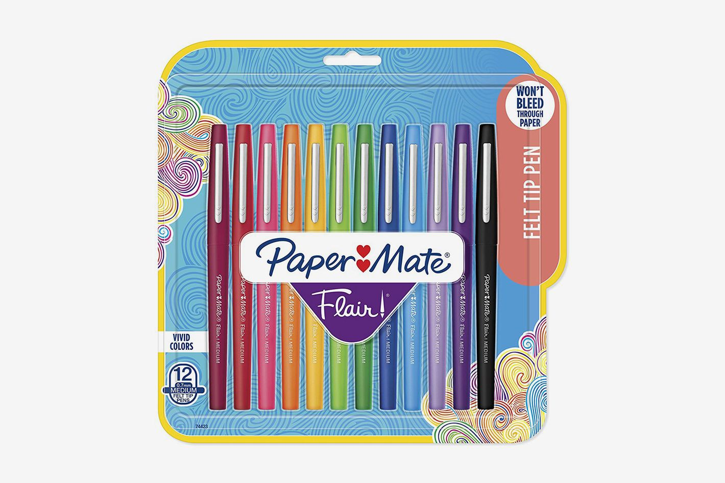 Paper Mate Flair Felt Tip Pens, 12 Count