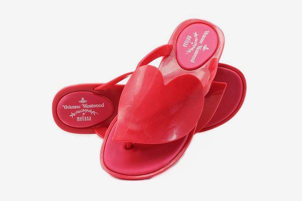 Melissa Black x Vivienne Westwood Anglomania Flip Flop