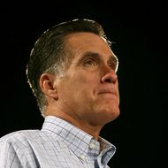DES MOINES, IA - AUGUST 08: Republican presidential candidate and former Massachusetts Gov. Mitt Romney speaks during a campaign event at Central Campus High School on August 8, 2012 in Des Moines, Iowa. Mitt Romney is campaigning in Iowa before traveling to New Jersey and New York for fundraising events. (Photo by Justin Sullivan/Getty Images)