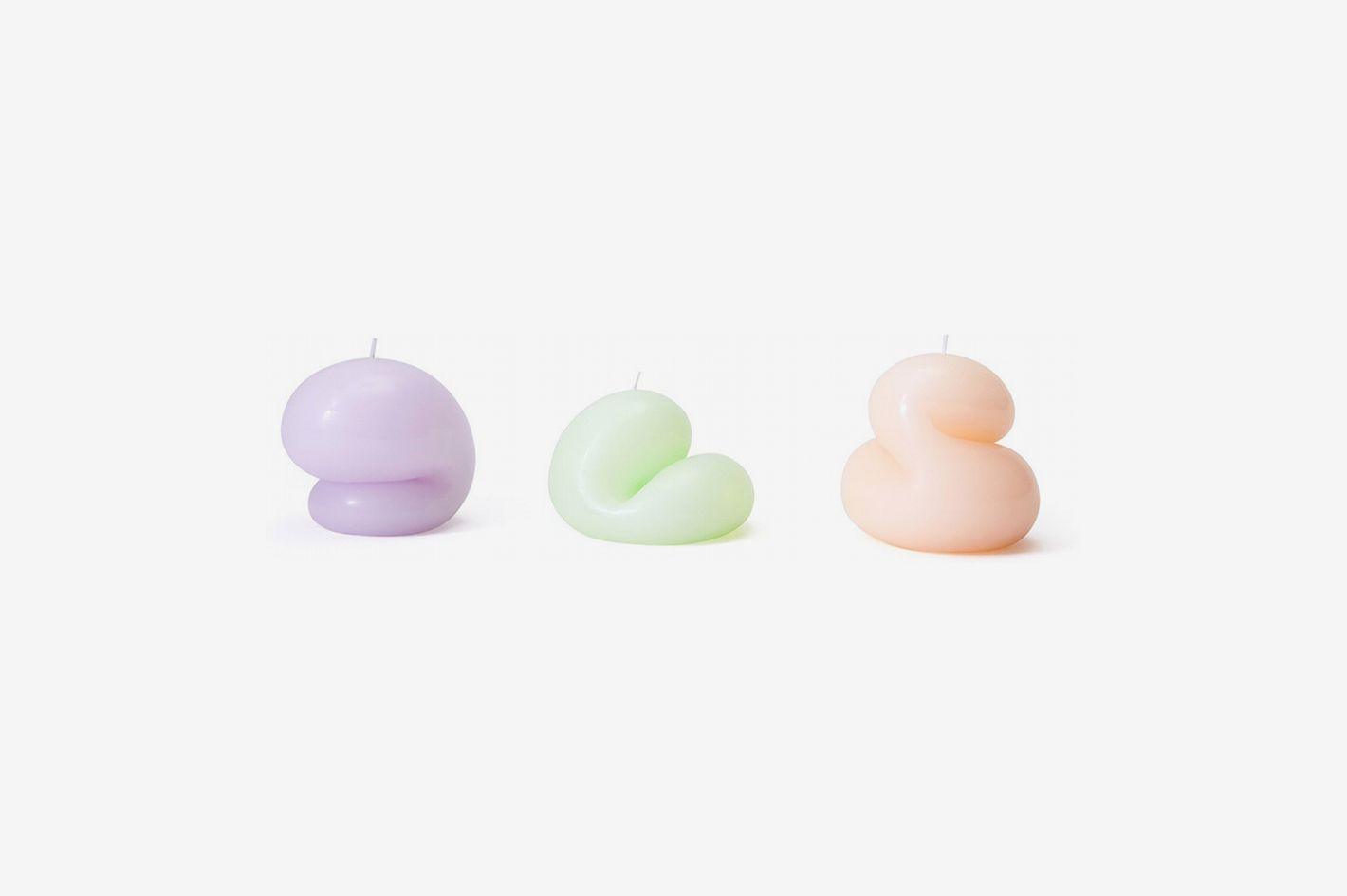 Areaware Goober Paraffin Wax Candle Set